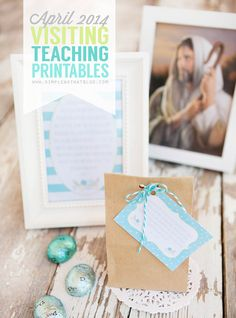 Free visiting teaching printables each month.