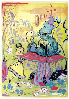 Camille Rose Garcia- Alice in Wonderland