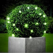 decorated 3 ball topiary trees - Google Search