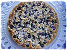 Blueberry Almond Tart via The Farm Girl Cooks.