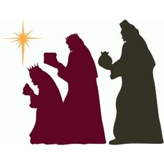 Silhouette Design Store - View Design #36304: three wise men