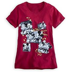 Disney Mickey and Minnie Mouse Tee for Women | Disney Store
