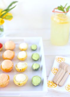 A citrus-themed baby shower is perfect for summer. Add a DIY project to the fun, using basics from Target.