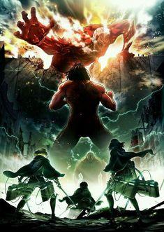 Easily watch Attack on Titan Season 2 anime online. Second season of Shingeki no Kyojin. Manga Anime, Art Manga, Attack On Titan Season 2, Attack On Titan 2, Levi Titan, Armin, Mikasa, Anime Quotes Tumblr, Anime Pokemon