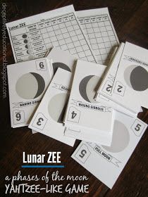 Relentlessly Fun, Deceptively Educational: Free Printable Phases of the Moon Game