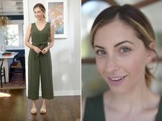 Wednesday: Club Monaco Romper (available in white here), Carrie Forbes Sandals (available in black here)