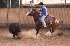 Die Cowboys waren los auf der Reitseite. Foto Silke Müller-Uloth