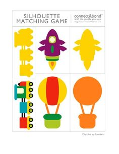 vehicles shadow matching for kıds Games For Kids, Diy For Kids, Activities For Kids, Preschool Themes, Preschool Worksheets, Transportation Activities, Felt Board Stories, Quiet Book Templates, Autism Education