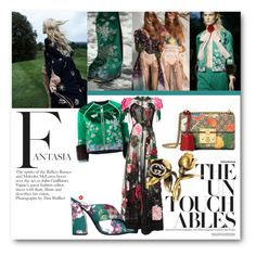 """""""#Florals Spring 2016"""" by nikkisg ❤ liked on Polyvore featuring Gucci, Dolce&Gabbana, dolceandgabbana, florals and gucci"""