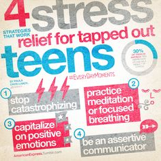4 Stress Relief Strategies (not just for teens)