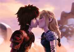 Hiccstrid kisses are some of the best things ever! :D