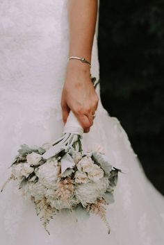Chelsea + Tyler | Bridal bouquet by @AuroraFloraOH | Photo by Rosey Red Photography http://roseyredphotography.com/
