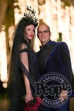 Liberty Ross Marries Jimmy Iovine in Vintage Black Wedding Dress