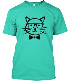 Cat in bowtie and glasses!