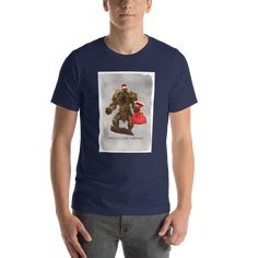 Gloomhaven Have a Gloomy Christmas - Christmas Unisex Tshirt - Navy / 2X
