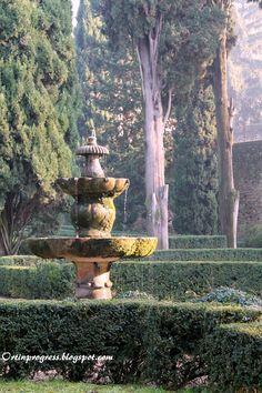 Giardini Giusti (Verona) - fontana