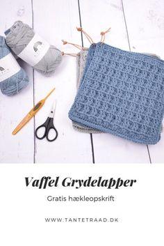Crochet Kitchen, Crochet Home, Diy Crochet, Crochet Baby, Wooden Advent Calendar, Crochet Books, Couture, Needlework, Free Pattern