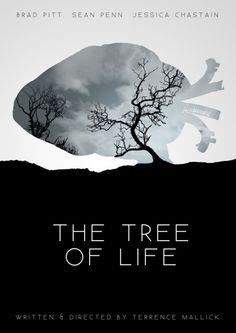 The Tree of Life Minimalist Movie Poster