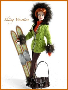 Skiing Vacation {fashion only}