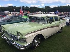 Car Show at Tatton Park National Trust, Cheshire, England 2015