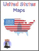 United States Maps -   This eWorkbook consists of 15 pages. It includes the following maps, some of the maps have questions: blank US, states outline, borders, regional, deserts, rivers, lakes, parks, abbreviations