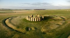 Stonehenge Begins to Yield Its Secrets - The New York Times.  Discoveries in the past decade have revealed more about the people for whom Stonehenge and nearby monuments held great meaning. Credit Adam Stanford/Aerial-Cam