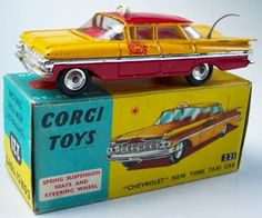 Corgi Toys 221 Chevrolet Chicago Taxi