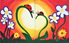 Image result for mommy and me painting ideas