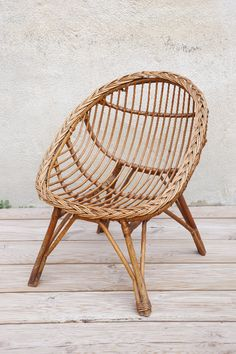 1000 ideas about chaise en osier on pinterest wicker for Petite chaise en osier