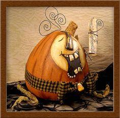 Bertram the PODD Pumpkin.....©2009