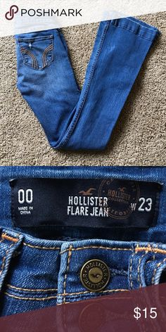 Hollister Jeans Worn just a few times! Hollister Jeans Flare & Wide Leg