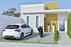 Esse lindo projeto possuis desenhos detalhados para a construção de uma casa…