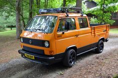 Found here on eBay is a 1984 Volkswagen Double Cab Transporter. This Doka started life in Europe but was brought over by a previous owner to roam the roads of the Southeast. The Doka has recently b…