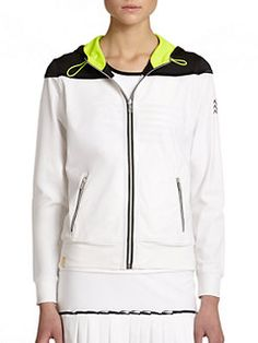 Monreal London - Relaxed Hooded Zip-Up Jacket