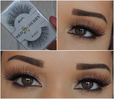 Red Cherry Lashes | #747L - Phoebe