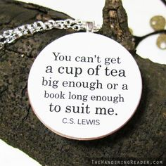 C.S. Lewis quote...sounds about right