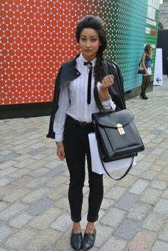 Street Style: London Fashion Week Spring/Summer 2013
