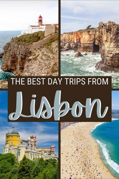 You can go on many day trips from Lisbon. Read this post for the best ones and for practical tips to make the most of them | Day trips from Lisbon Portugal | Sintra Portugal | Cascais Portugal | Places to visit in Portugal | #portugal #lisbon via @clautavani Portugal Destinations, Portugal Places To Visit, Best Beaches In Portugal, Portugal Travel, Cool Places To Visit, Day Trips From Lisbon, South America Travel, Africa Travel, European Travel