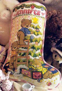 Bearly Ready a Stocking 1/3