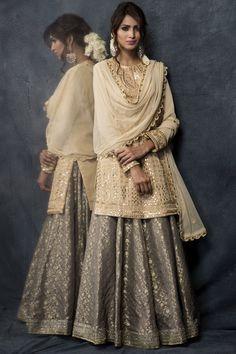 Shop Heena Kochhar Embroidered Kurta Lehenga Set , Exclusive Indian Designer Latest Collections Available at Aza Fashions Pakistani Wedding Outfits, Pakistani Dresses, Indian Dresses, Indian Suits, Punjabi Suits, Salwar Suits, Nikkah Dress, Shadi Dresses, Kurta Lehenga
