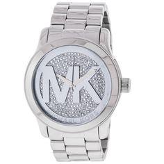 Michael Kors Women's MK5544 Runway Silver Dial Watch | Overstock.com Shopping - The Best Deals on Women's Michael Kors Watches