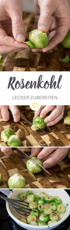 Rosenkohl ist ein Grund, wieso die kalten Monate im Jahr Freude machen. Damit er besonders auf deinem Teller glänzt, haben wir hier ein paar Tipps für dich.