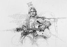 Kurt Cobain... By Vince Low