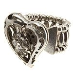 I love these locket rings for Valentine's day!  What a great, inexpensive gift for mom or grandma.. only $12.  Order at www.facebook.com/familyjewelskc