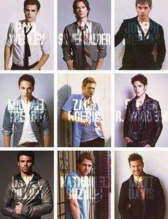 TVD's boys.