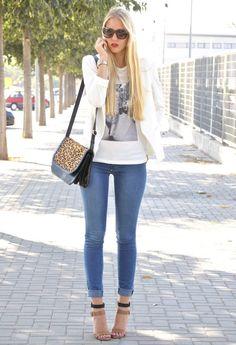 Oppure  T Shirts, piel de toro  Jeans and Zara  Bags