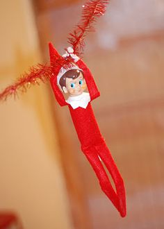 Zip line Chippy #Elf on the shelf