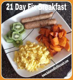 21 Day Fix Breakfast