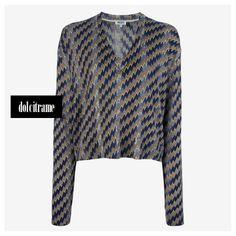 KENZO - zig-zag print sweater #kenzo #sweater #sweaters #tiger #paris #womens #womenswear #fashion #newarrivals #shoponline #fw #fw13 #fw13/14 #farfetch #dolcitrame #dolcitrameshop