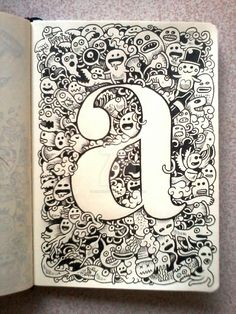 doodle_art__a_is_for_art_by_kerbyrosanes-d64iqo2.jpg (1024×1365)